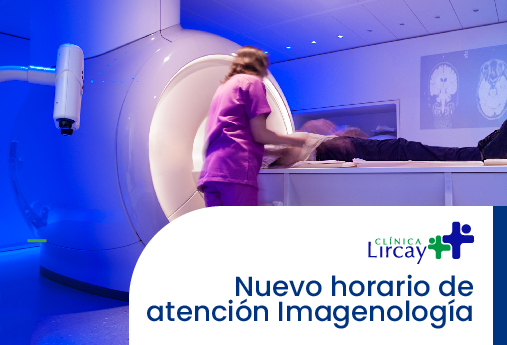 ¡Nuevo horario de atención Imagenología!